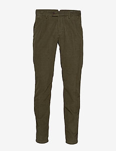 Woven Pants - chinos - grape leaf