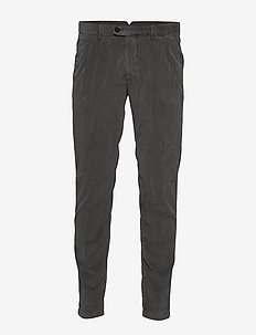 Woven Pants - chinos - gray pinstripe