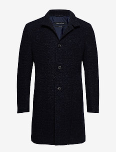 Coat, regular fit, long sleeve, sta - TOTAL ECLIPSE