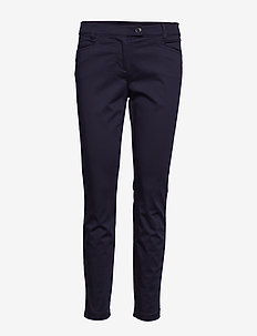 Woven Pants - bukser med smalle ben - thunder blue