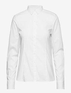 SHIRTS/BLOUSES LONG SLEEVE - chemises à manches longues - white