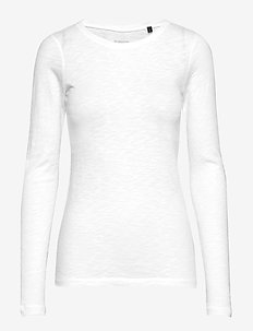 T-shirt Long Sleeve - langærmede toppe - white