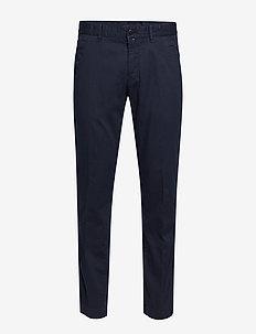 Pants - suit trousers - total eclipse