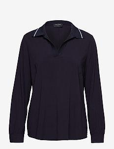 Polo Blouse - blouses à manches longues - deep atlantic