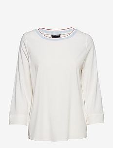Blouse - blouses à manches longues - optic white