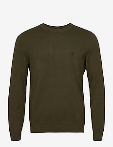 PULLOVER LONG SLEEVE - basic knitwear - ivy green