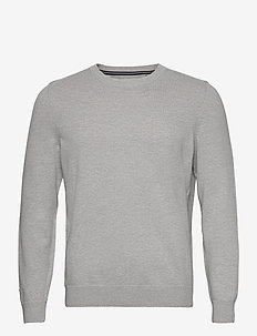 PULLOVER LONG SLEEVE - basic knitwear - twentyfour grey