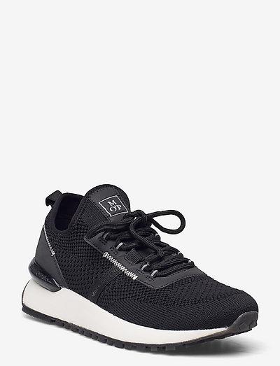 Sneaker - lave sneakers - black