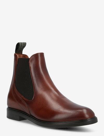 Chelsea - chelsea støvler - cognac