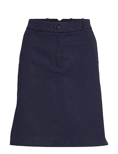 Woven Skirts Kurzes Kleid Blau MARC O'POLO