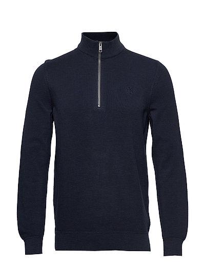 Troyer Knitwear Turtlenecks Blau MARC O'POLO