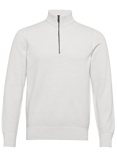 Troyer Knitwear Turtlenecks Weiß MARC O'POLO