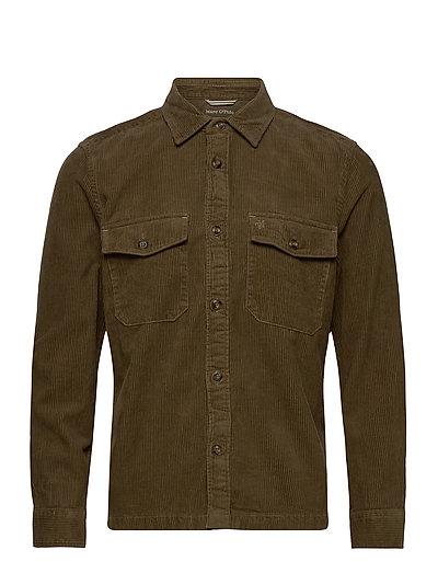 Shirts/Blouses Long Sleeve Overshirts Grün MARC O'POLO