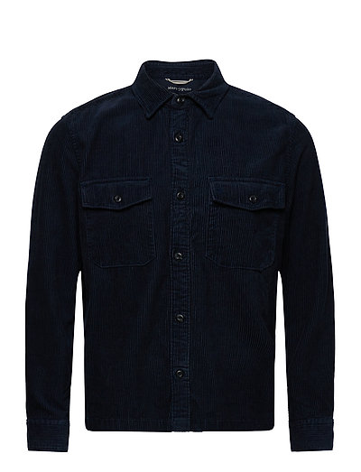 Shirts/Blouses Long Sleeve Overshirts Blau MARC O'POLO