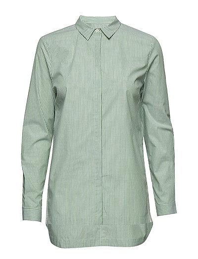 Shirt Langärmliges Hemd Grün MARC O'POLO