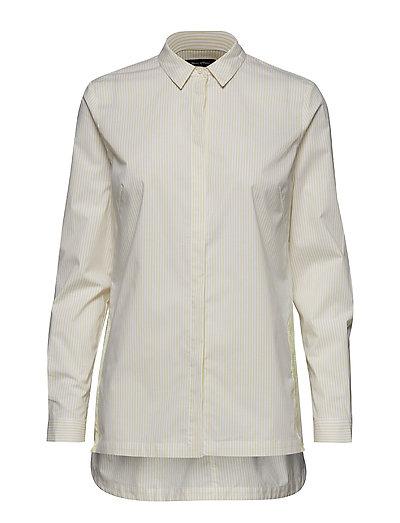 Shirt Langärmliges Hemd Creme MARC O'POLO