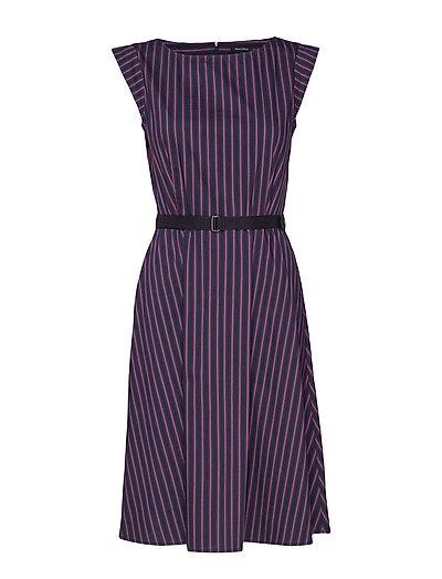 Feminine Style Dress Kleid Knielang Lila MARC O'POLO