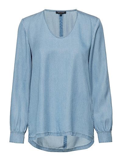 Blouse Bluse Langärmlig Blau MARC O'POLO
