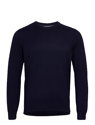 Pullover Long Sleeve Strickpullover Rundhals Blau MARC O'POLO