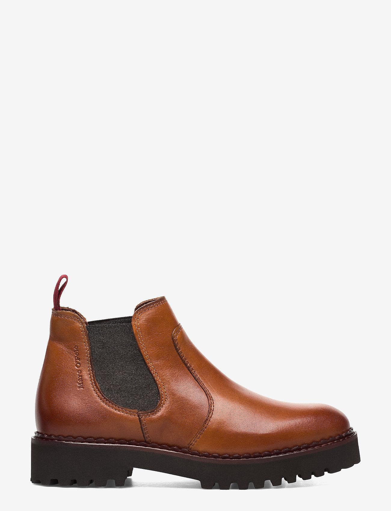 Marc O'Polo Footwear - Lucia 12A - chelsea støvler - cognac - 1