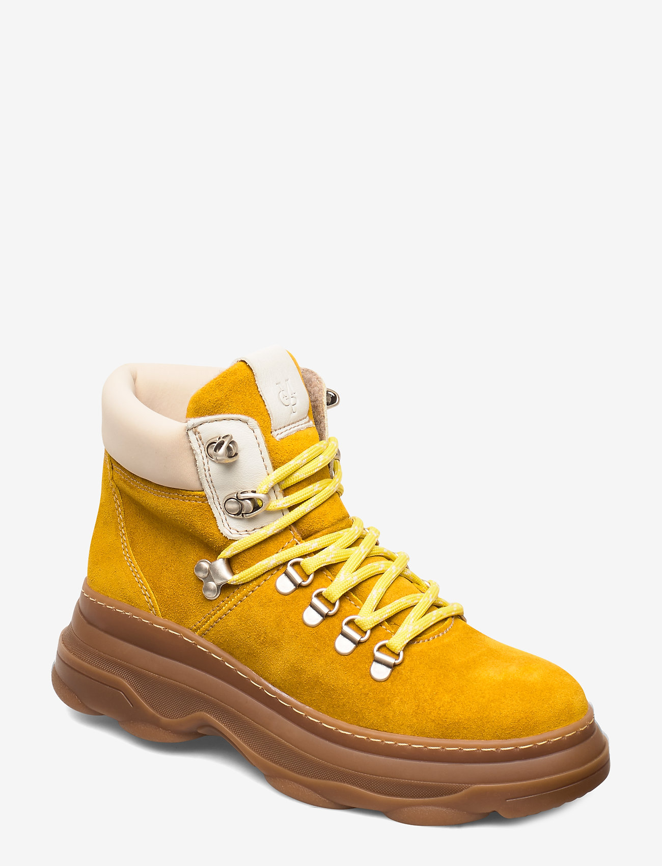 Marc O'Polo Footwear - Jana 1A - flade ankelstøvler - yellow - 0