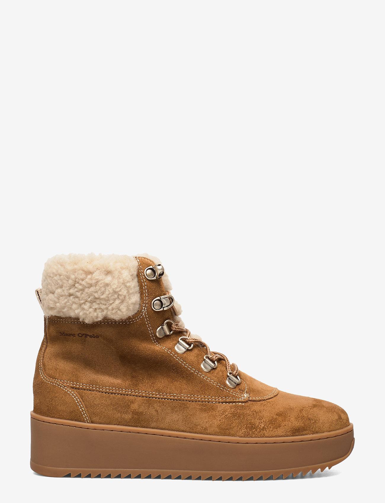 Marc O'Polo Footwear - Susanna 1A - flade ankelstøvler - tabacco - 1