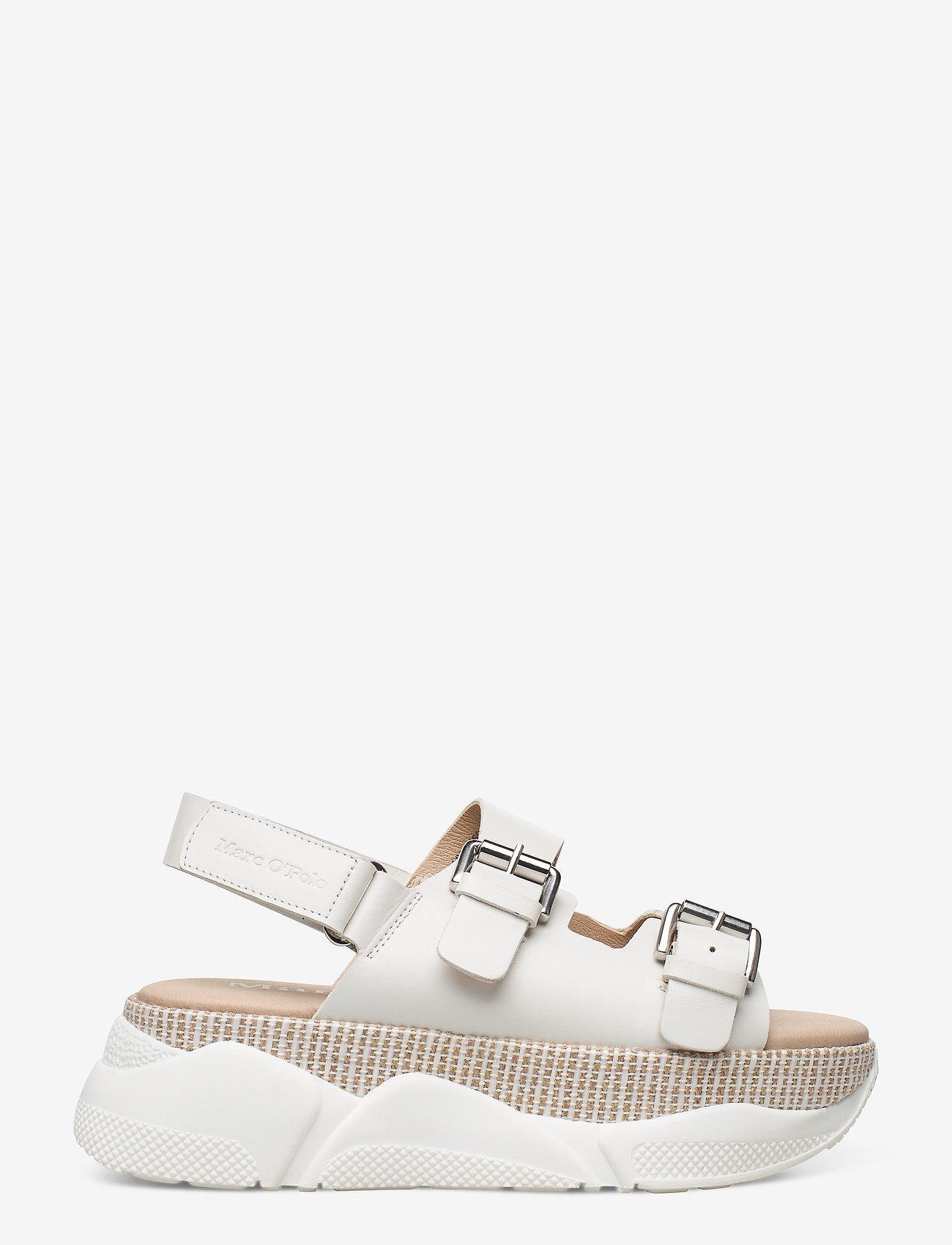 Marc O'Polo Footwear - Ellen 1B - flade sandaler - white - 1