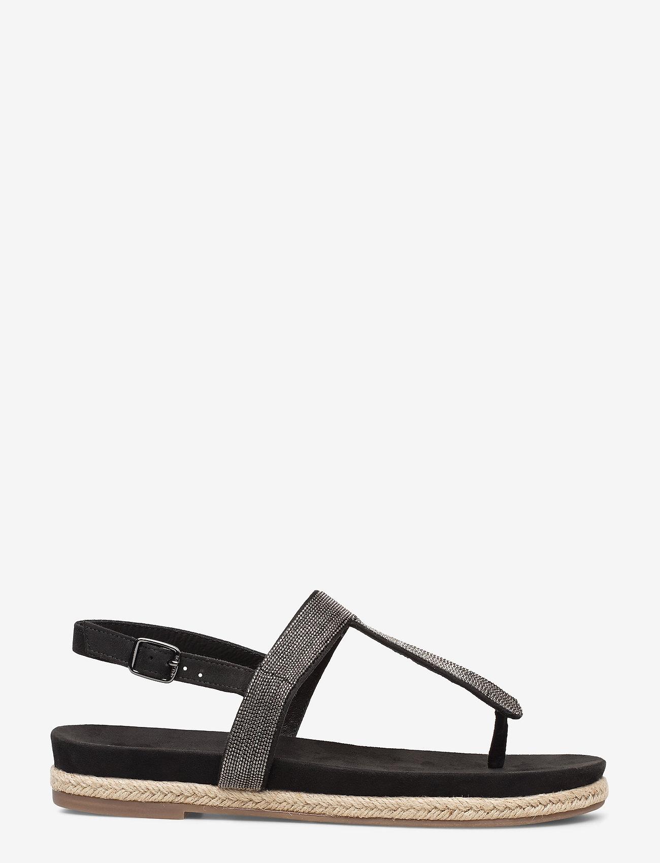 Marc O'Polo Footwear - Sarah 1 - flade sandaler - dark grey - 1