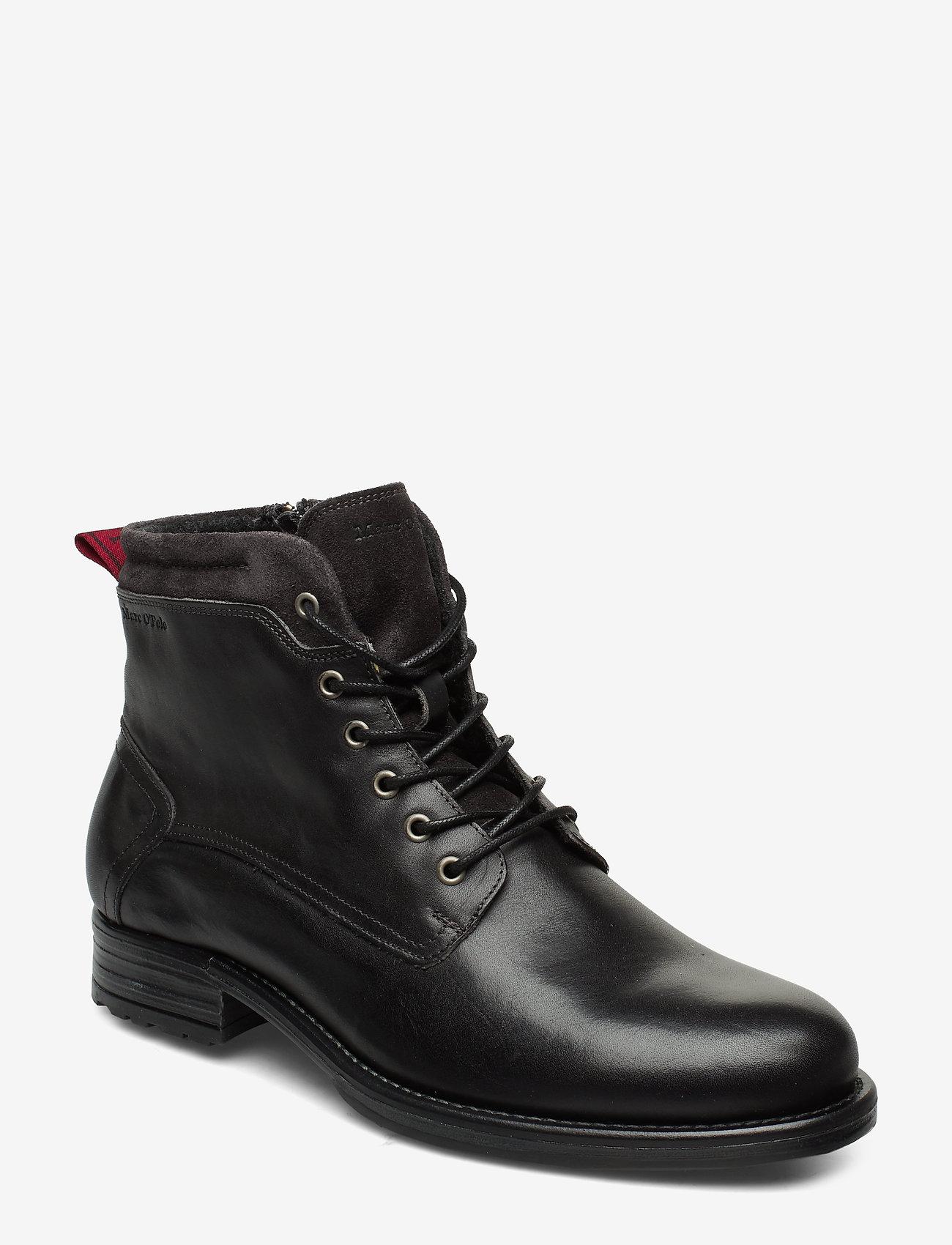 Marc O'Polo Footwear - Sutton 4B - bottes lacées - dark grey - 0