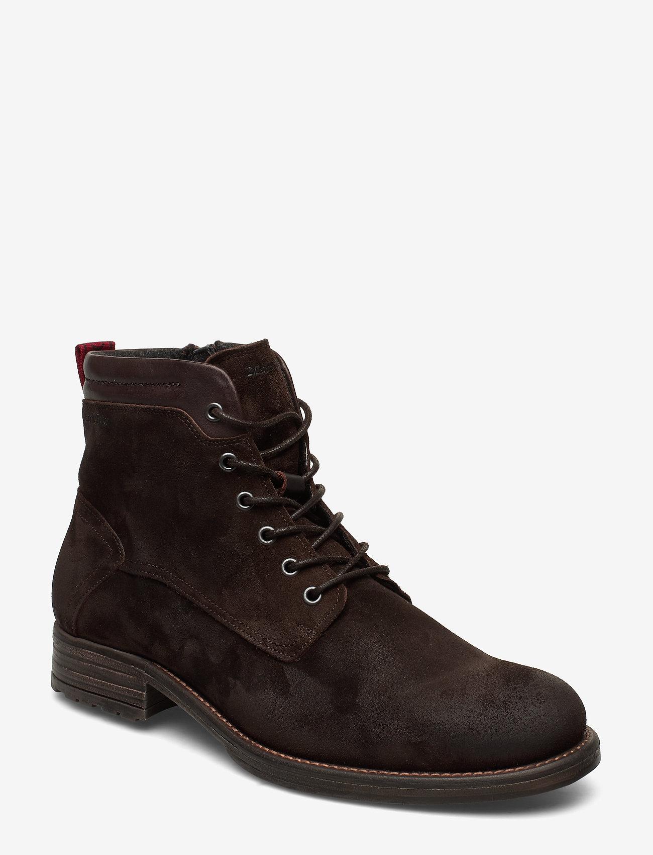 Marc O'Polo Footwear - Sutton 4A - bottes lacées - dark brown - 0