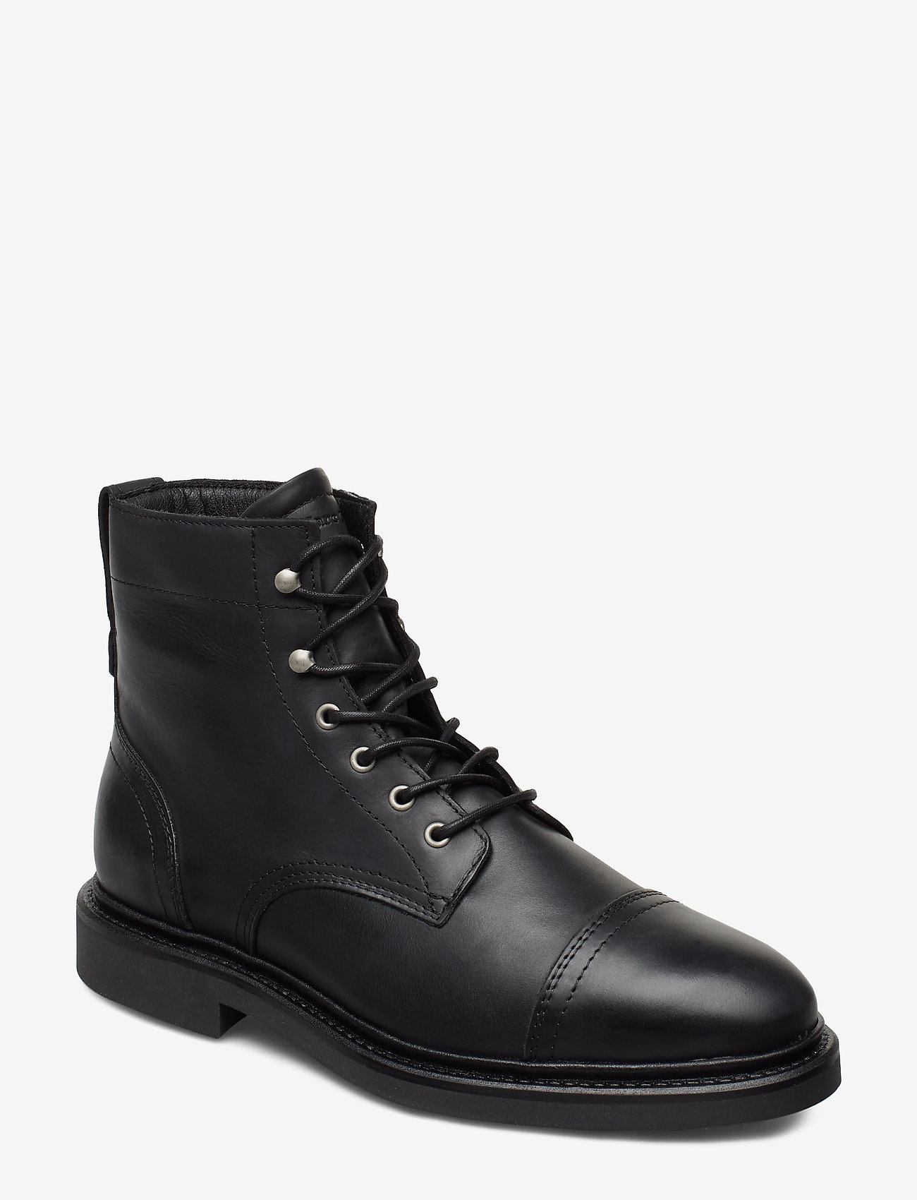 Marc O'Polo Footwear - Redwood 8B - bottes lacées - black - 0