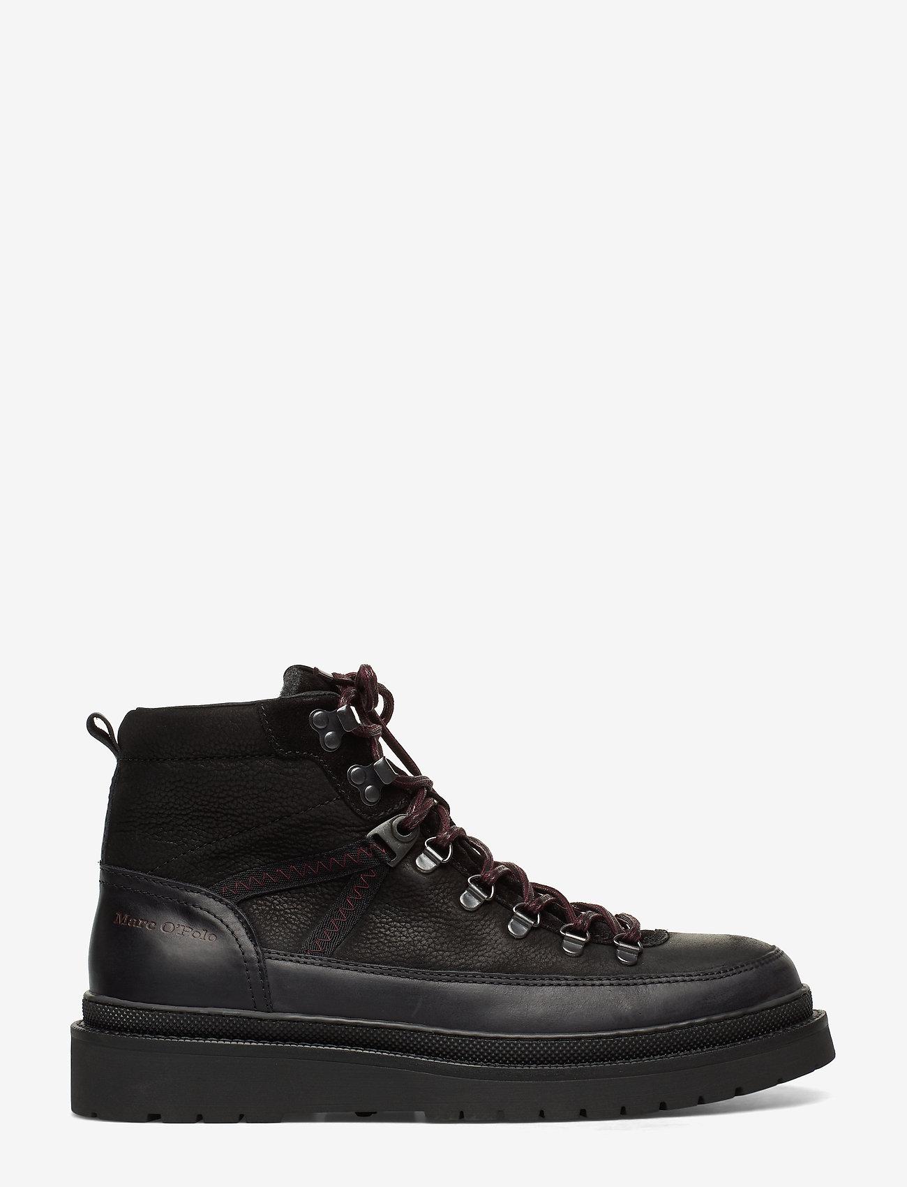 Marc O'Polo Footwear - Lee 4B - bottes lacées - black - 1