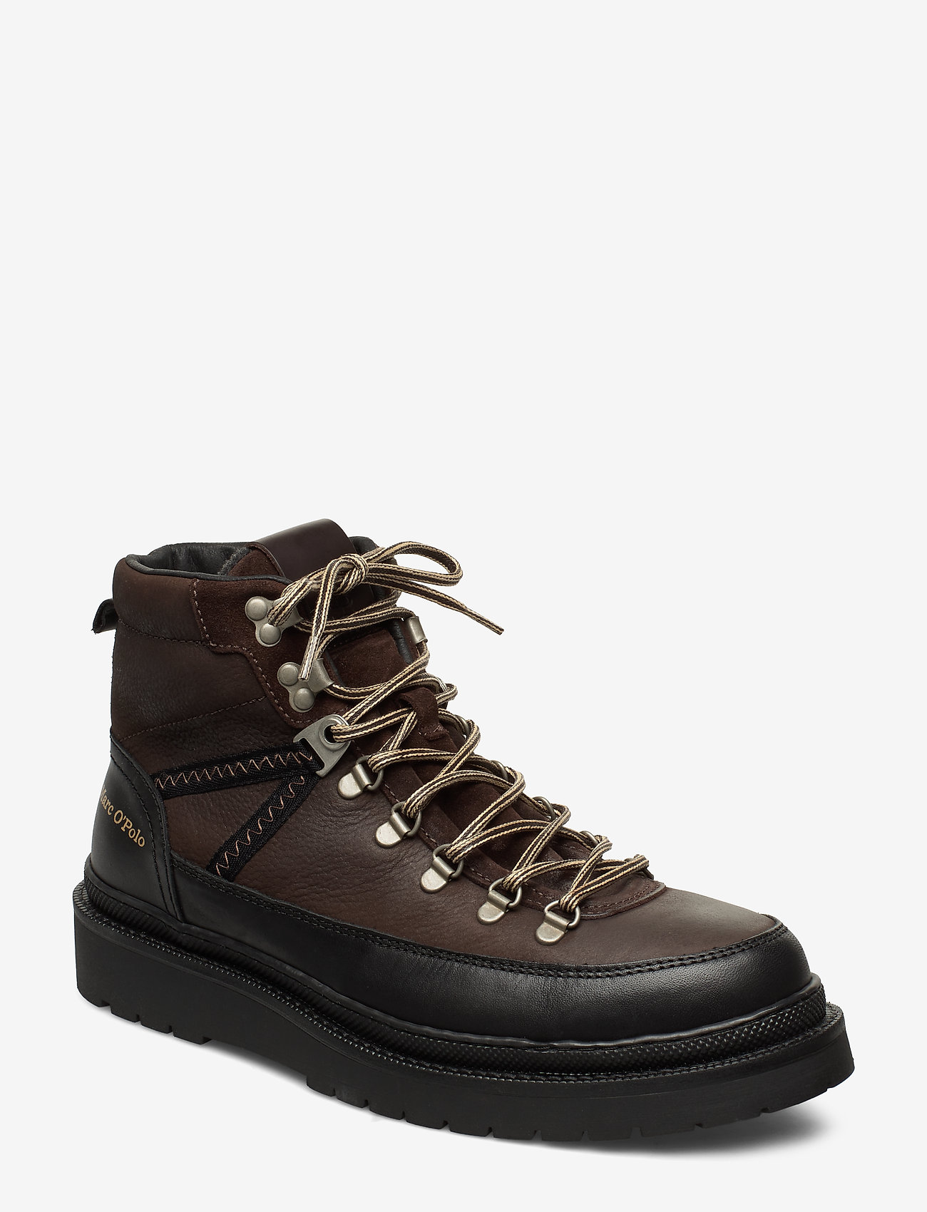 Marc O'Polo Footwear - Lee 4B - bottes lacées - dark brown - 0