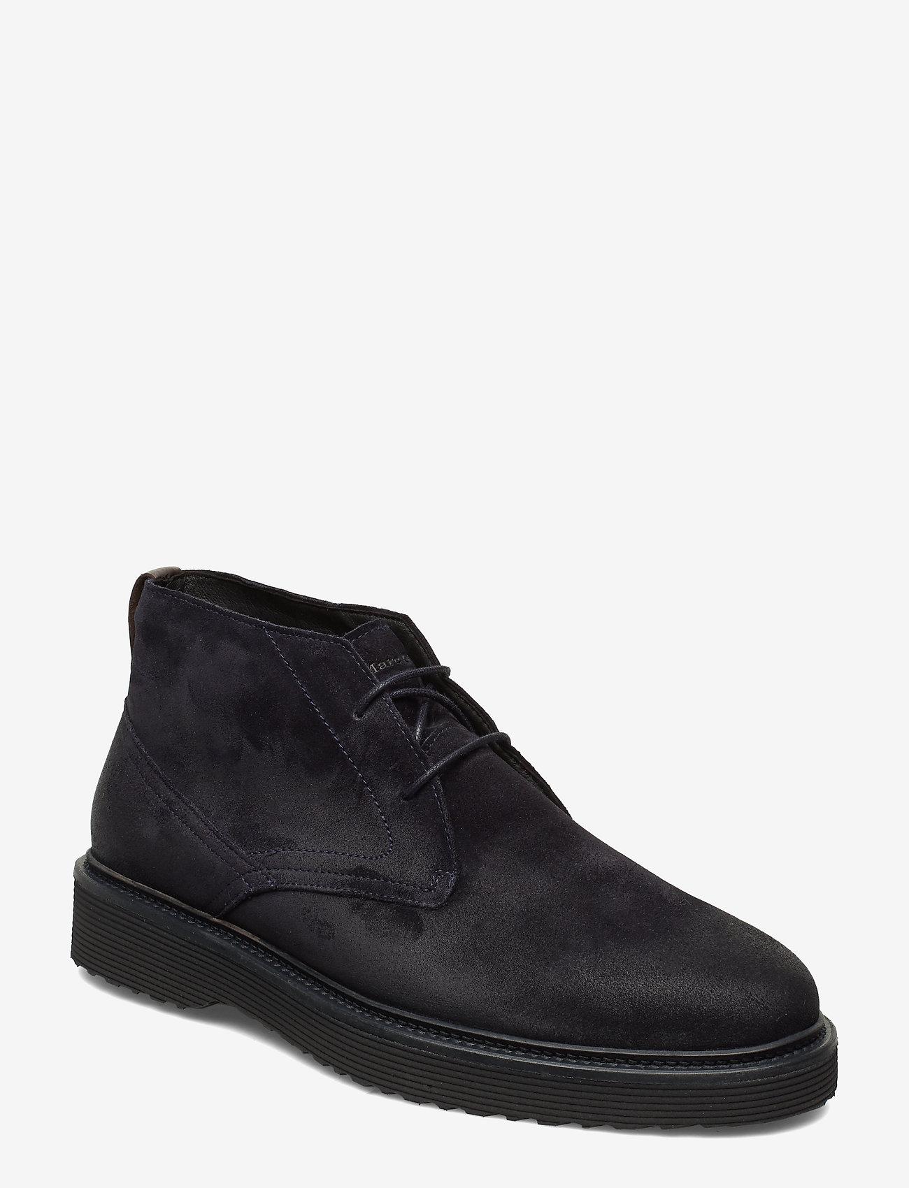 Marc O'Polo Footwear - Grizzly 3A - bottes du désert - dark navy - 0