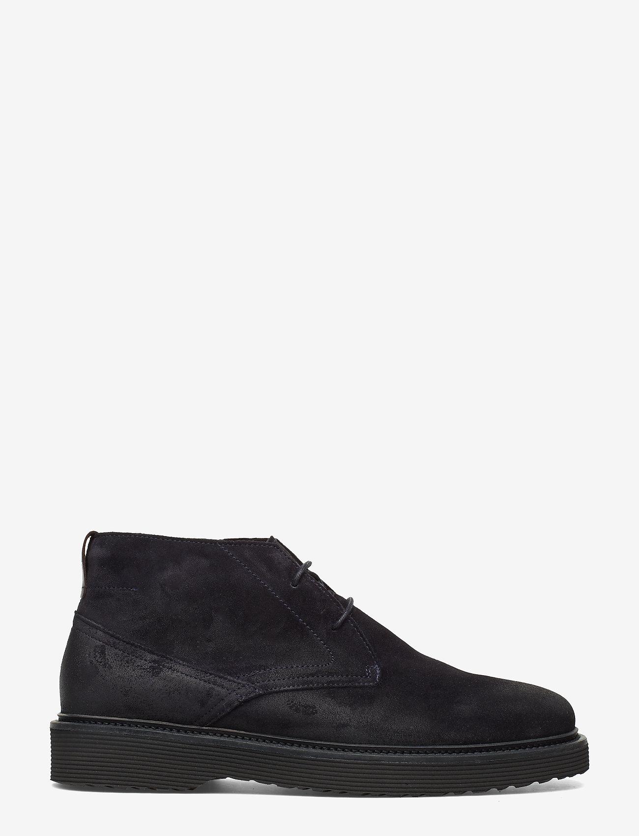 Marc O'Polo Footwear - Grizzly 3A - bottes du désert - dark navy - 1