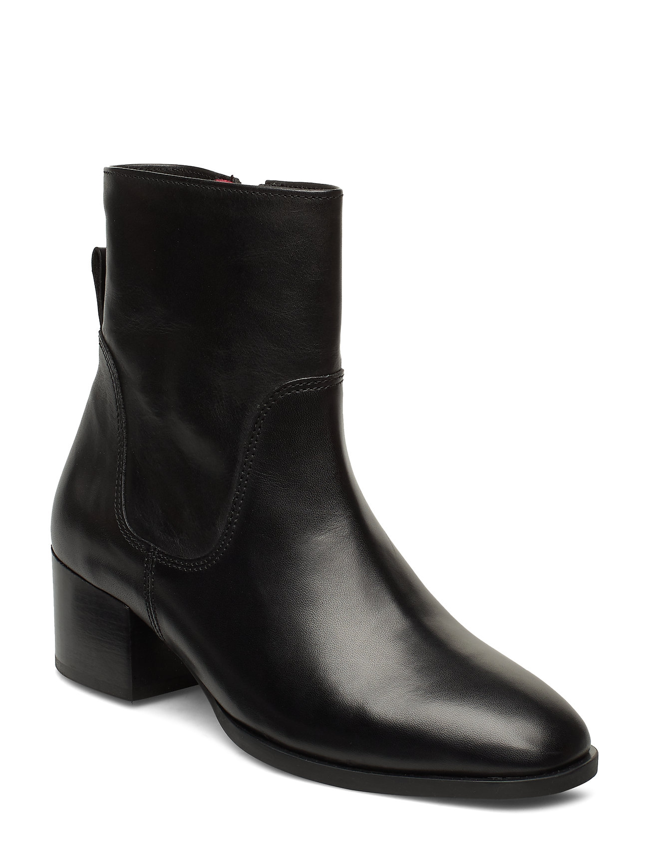 Image of Catania 8b Shoes Boots Ankle Boots Ankle Boot - Heel Sort Marc O'Polo Footwear (3406210321)