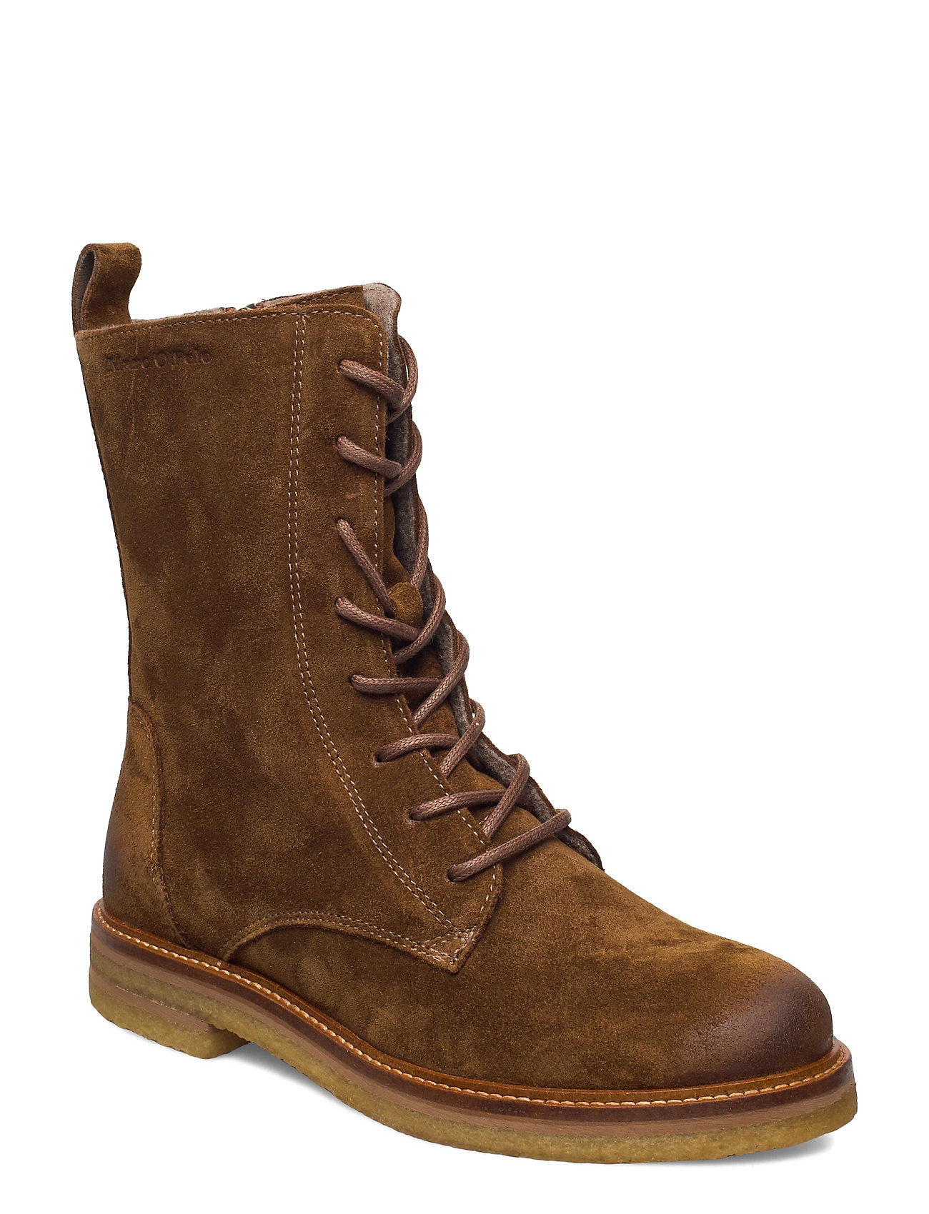 Image of Brenda 1a Shoes Boots Ankle Boots Ankle Boot - Flat Brun Marc O'Polo Footwear (3456993755)