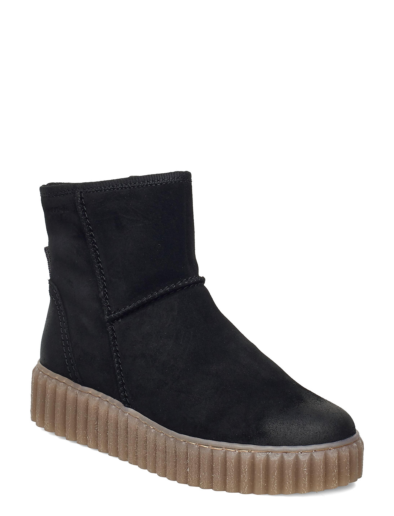 Image of Bianca 2 Shoes Boots Ankle Boots Ankle Boot - Flat Sort Marc O'Polo Footwear (3456993767)