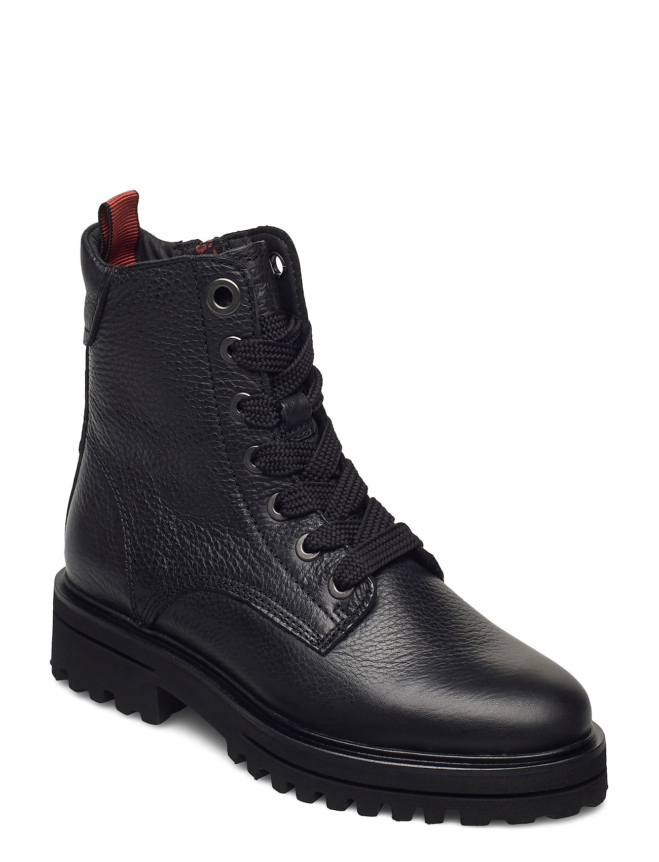 Image of Licia 5b Shoes Boots Ankle Boots Ankle Boot - Flat Sort Marc O'Polo Footwear (3452761847)