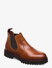 Marc O'Polo Footwear - Lucia 12A - chelsea støvler - cognac - 0