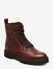 Marc O'Polo Footwear - Lucia 17A - flade ankelstøvler - brown - 0