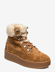 Marc O'Polo Footwear - Susanna 1A - flade ankelstøvler - tabacco - 0