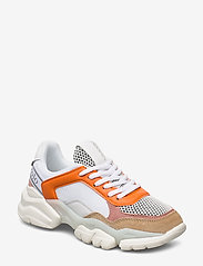 Marc O'Polo Footwear - Julia 1 - chunky sneakers - orange combi - 0