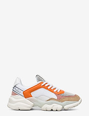 Marc O'Polo Footwear - Julia 1 - chunky sneakers - orange combi - 1