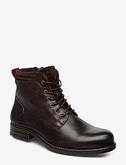 Marc O'Polo Footwear - Sutton 4B - bottes lacées - dark brown - 0