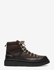 Marc O'Polo Footwear - Lee 4B - bottes lacées - dark brown - 1