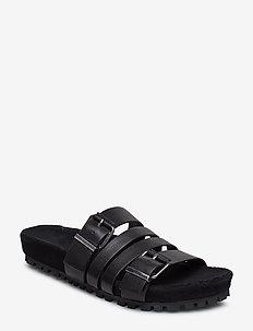 Napa 2A - flade sandaler - black
