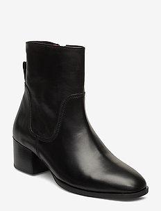 Catania 8B - ankelstøvler med hæl - black