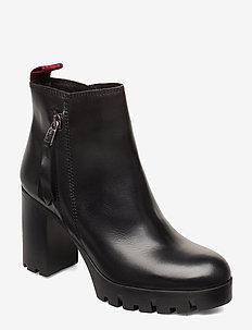 Alma 1A - ankelstøvler med hæl - black
