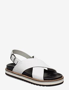 Andrea 1B - flade sandaler - white